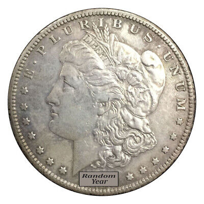 Random Year 1878-1904 $1 Morgan Silver Dollar VF to XF