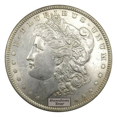 1878-1904 $1 Morgan Silver Dollar About Uncirculated