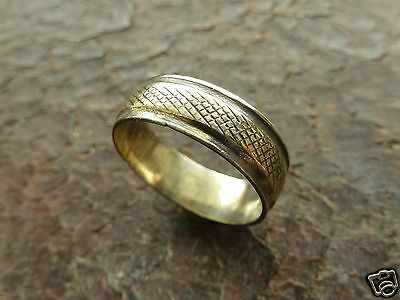 Old polished bronze  ring (227).