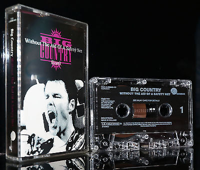 BIG COUNTRY - WITHOUT THE AID OF A SAFETY NET 1994 MC tape Kassette cassette