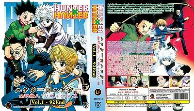 MEGA Pack HUNTER X HUNTER | TV+OVA+Movies | 242 Episodes | 20 DVDs (Set)-LU