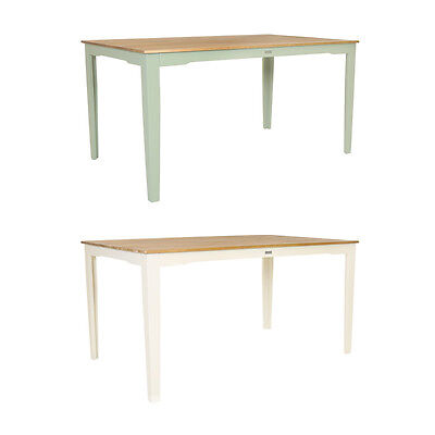 Bentley Garden Kingston 6 Seat Table - FSC Hardwood - Green