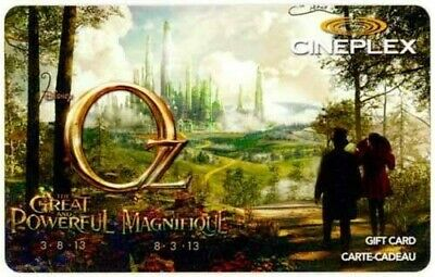 James Franco OZ GREAT AND POWERFUL (Emerald City) collectible gift card #2