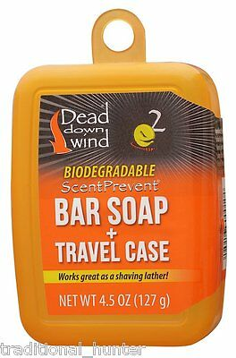 Dead Down Wind Bar Soap and Travel Case 12002