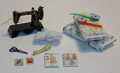 Dollhouse Miniature Sewing Shop Thimble Display Stand up 1:12 One Inch Scale A44