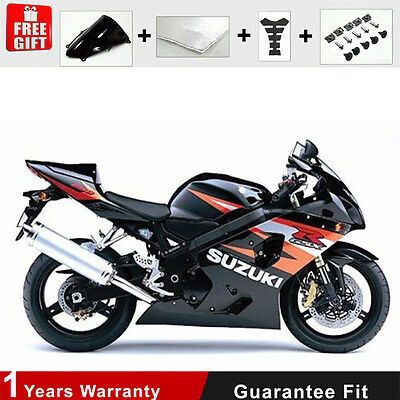 Injection for Suzuki GSXR 600 750 K4 K5 Motorcycle Fairing 04 05  ABS Bodywork