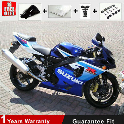 Injection Mold for Suzuki GSXR 600 750 K4 K5 Fairing Kit 04 05 Blue Bodywork