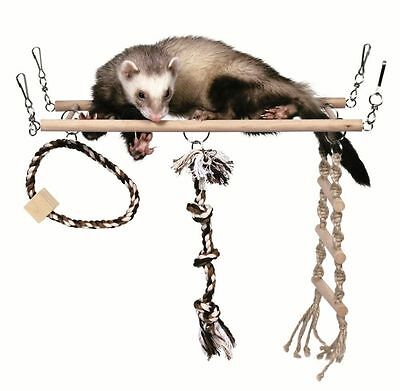 Trixie Hanging Suspension Bridge Rat Ferret Chinchilla Cage Toy 6905