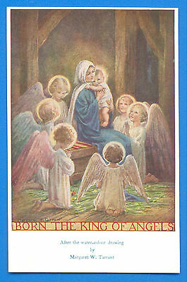 Born The King Of Angels.postcard By Margaret W.tarrant.