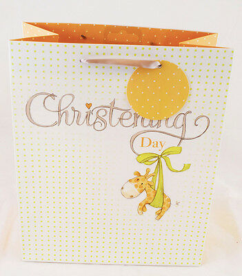 Christening Gift Bag Small Unisex Boy Girl New Baby Quality Present Gift Bag SM