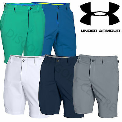 Under Armour Mens Performance MatchPlay Tapered Summer Golf Shorts -1272356