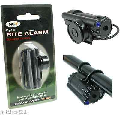 NGT Carp Fishing Clip On Rod Z Bite Alarm x 1 (New Model)