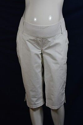 NOPPIES Perth Umstands-Shorts Bermuda Caprihose weiß XL, XXL, Neu; K1 281