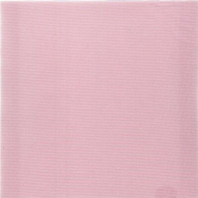 28 count Zweigart Brittney Lugana Evenweave Fabric Pink size 49 x 70cms