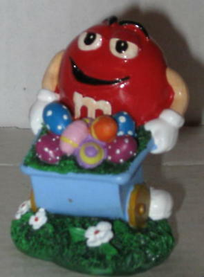 M&M's Easter Figurine (Red) Approx 2.75""