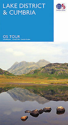 Lake District Tour Map Ordnance Survey 3