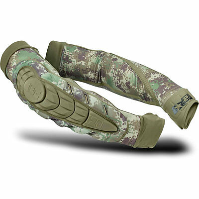 Eclipse Overload HD Core Elbow Pads - HDE Camo - Medium - Paintball