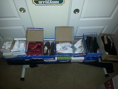 Girls, Baby's, Womens & Boys Shoes New in Boxes  Resell Lot 32 pairs Free Ship