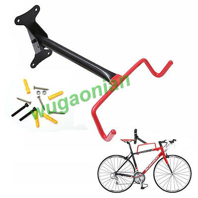 New Garage Wall Mounted Bicycle Rack Bike Holder Storage Hook With Screw Fitting
