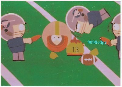 """1998 Comic Images South Park """"the Many Deaths Of Kenny"""" #omni 4 Foil Insert Card"""