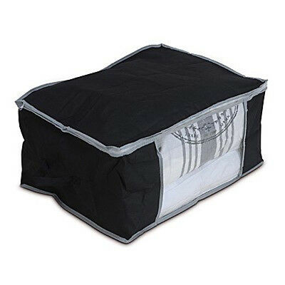 Underbed Storage bag organiser with window and zip fastening 60 x 45 x 30cm