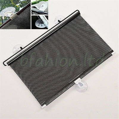 2 x 60cm Car Window Sun Shade Roller Blind Screen Protector Protection Children