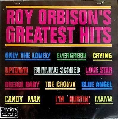 NEW & SEALED - ROY ORBISON GREATEST HITS - Pop Rock And Roll Music 60s CD Album