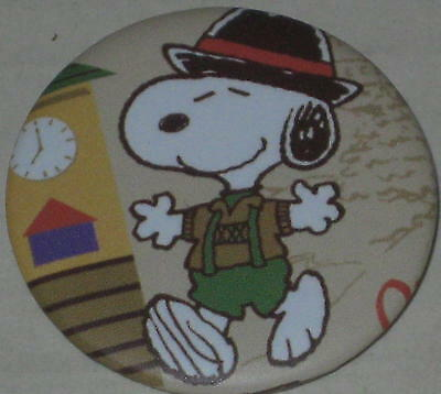 "Snoopy ""Bavaria"" Pin 1 1/8"""