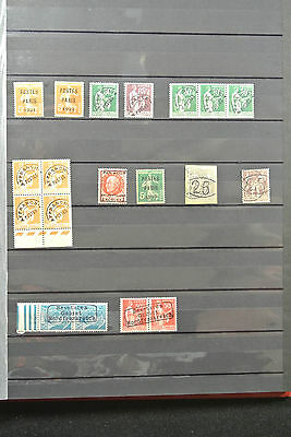 Lot 25182 Collection fake stamps of France.