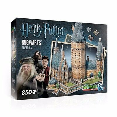 31646  Hogwarts 3D Great Hall Jigsaw Puzzle 850 Pieces Harry Potter Movies