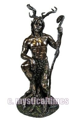 New * Herne * Statue Figurine Ornament From Nemesis Now Now4000 With Free Post