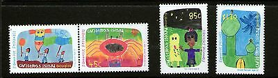 Christmas Island 1999 Festivals Childrens Paintings Set 4
