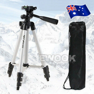 Professional Camera Tripod Travel Digital Camcorder Video For Nikon Canon Sony
