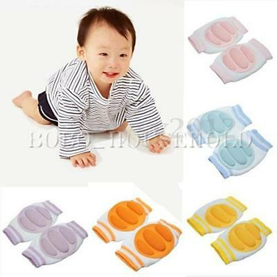 Infants Baby Toddler Knee Cushion Elbow Pads Crawl Safety Crawling Protector UK