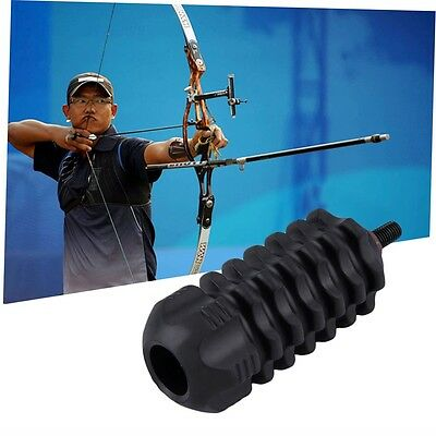 Hunting Arrows Archery Stabilize Compound Bow Stabilizer Rubber Accessories GK