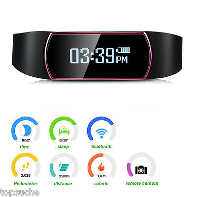 OLED Bluetooth Sport Orologio Da Polso Smart Watch Fitness Tracker Android IOS
