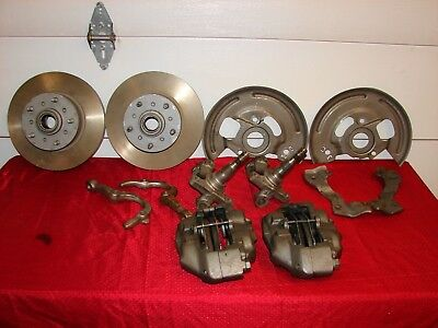 Vintage 14 X 6 4.5 Bc Chrome Reverse Wheels Ford Mopar Gasser Street Rod