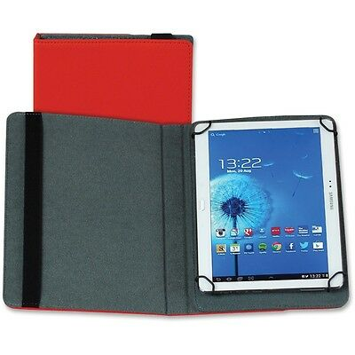 Samsill Carrying Case (Folio) for 10 Tablet - Red