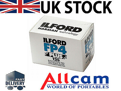 Ilford FP4 Plus 125 35mm 24 Exposures Black & White Negative Film, New