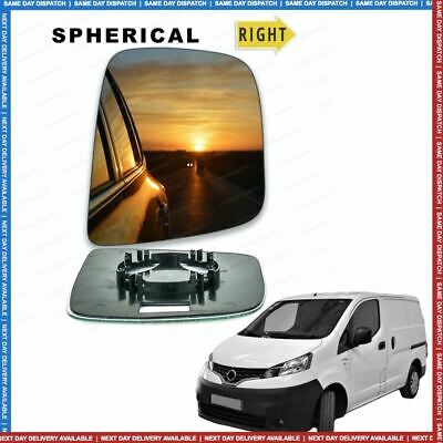 Nissan NV200 Right Driver wing mirror glass 2010-2019 door side