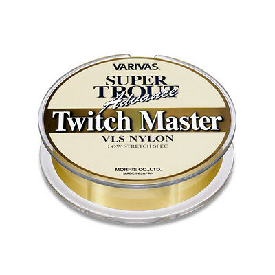 VARIVAS. SUPER TROUT Advance, Twitch Master. 100m. Nylon Line. Color:Stats Gold