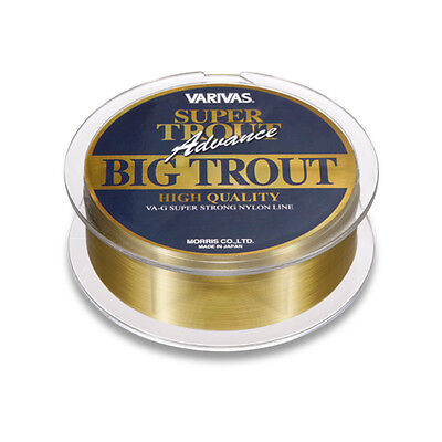 VARIVAS. SUPER TROUT Advance, BIG TROUT. 150m. Nylon Line. Status Gold