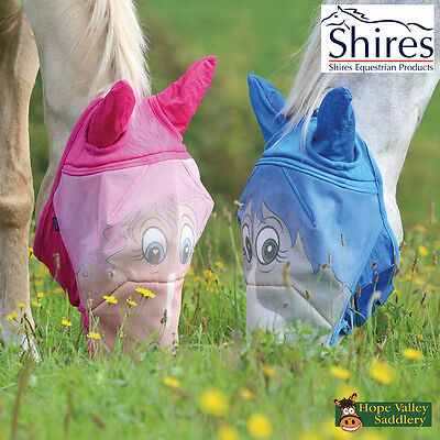 Shires Horse Face Fly Mask (6654P) - Sale **BNWT**