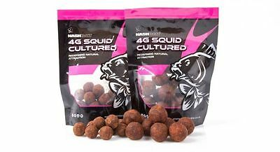 Nash Bait NEW Carp Fishing 4G Squid 15mm Cultured Hookbaits (25) - B7221