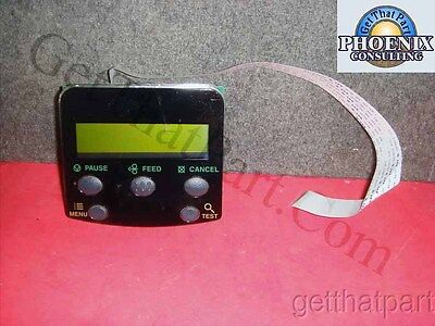 Datamax 78-2780-01 I-4208 Complete LCD Display with Bezel Buttons