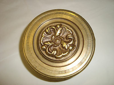 Greece antique solid brass large door knob handle pull & push only -D33