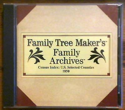 Family Tree Maker Family Archives CD #317 ~ US Census Index ~ Selected Counties
