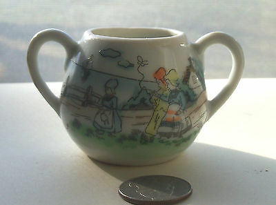 Vintage Fancy Doll Cup