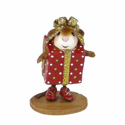 PRESENT...PERRY by Wee Forest Folk, WFF# M-546, Wee Christmas Play New Series