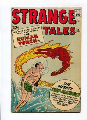 Strange Tales #107 High Grade VF 8.0 Classic Cover Torch Subby Marvel Silver Age